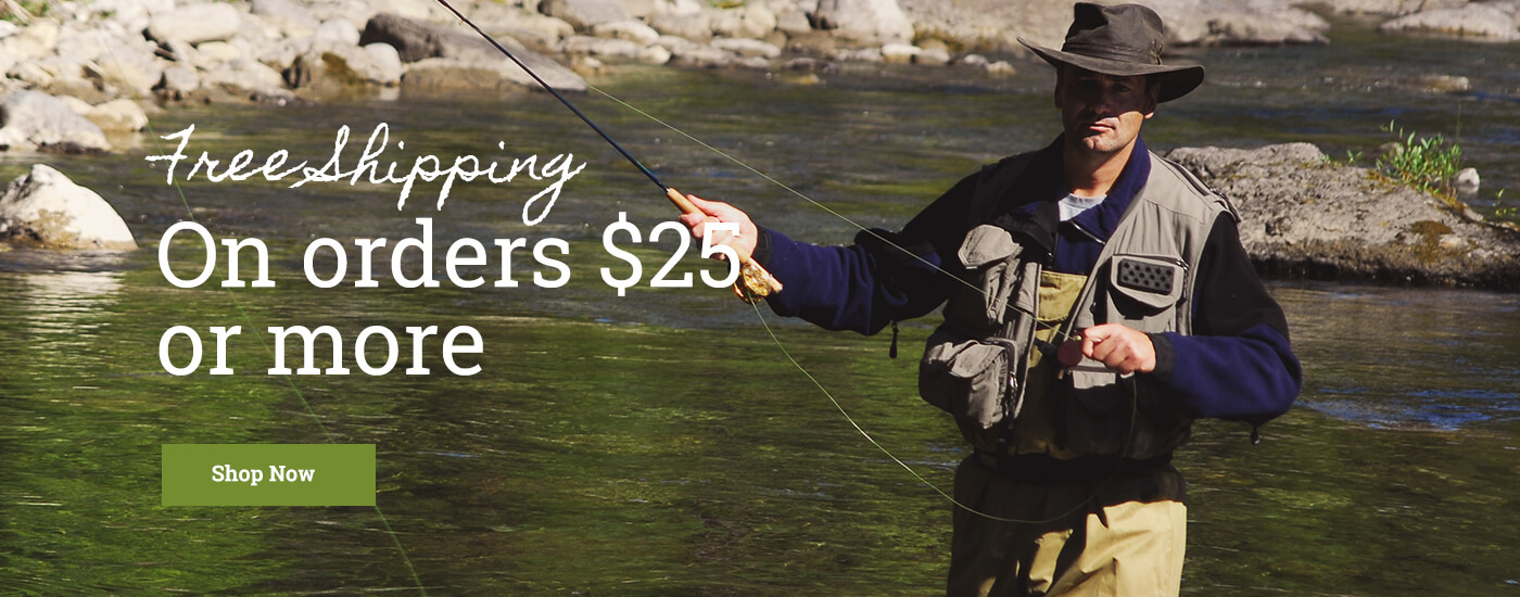 Fly fishing online for Online fly fishing store
